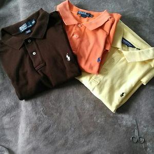 3 2xl shirt sleeve Polo shirts